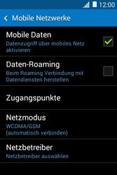 Samsung Galaxy Young 2 - Netzwerk - Netzwerkeinstellungen ändern - 2 / 2
