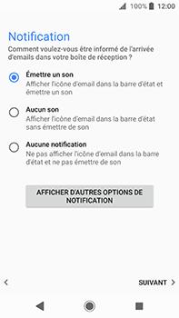 Sony Xperia XA2 Ultra - E-mail - Configuration manuelle - Étape 21