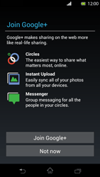 Sony Xperia T - Applications - Setting up the application store - Step 10