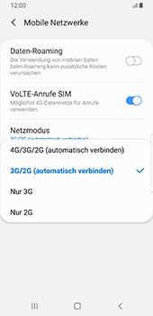 Samsung Galaxy S9 - Android Pie - Netzwerk - So aktivieren Sie eine 4G-Verbindung - Schritt 7