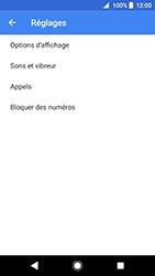 Sony Xperia XZ Premium - Android Oreo - Messagerie vocale - configuration manuelle - Étape 7