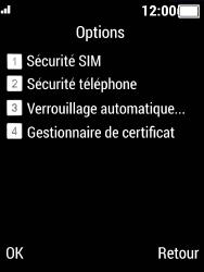 Crosscall Spider X5 - Sécuriser votre mobile - Activer le code de verrouillage - Étape 5