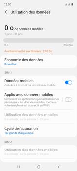 Samsung Galaxy A71 - Internet et connexion - Désactiver la connexion Internet - Étape 6