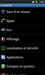 Samsung I9001 Galaxy S Plus - Messagerie vocale - configuration manuelle - Étape 5