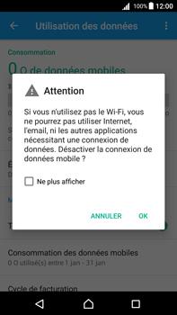 Sony Xperia Z5 Premium (E6853) - Android Nougat - Internet - Désactiver les données mobiles - Étape 6