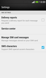 HTC Desire 500 - SMS - Manual configuration - Step 6