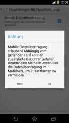 Sony Xperia Z1 - Internet - Manuelle Konfiguration - Schritt 7