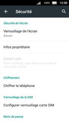 Doro 8031 - Sécuriser votre mobile - Personnaliser le code PIN de votre carte SIM - Étape 7