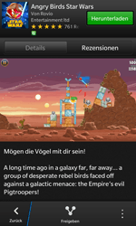 BlackBerry Z10 - Apps - Herunterladen - 17 / 21