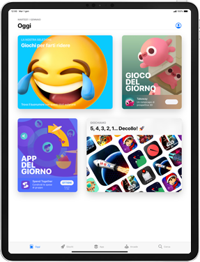 Apple iPad Air 2 - ipados 13 - Applicazioni - Come verificare la disponibilità di aggiornamenti per l