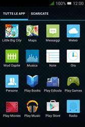 Alcatel Pixi 3 (3.5) - Applicazioni - Come verificare la disponibilità di aggiornamenti per l