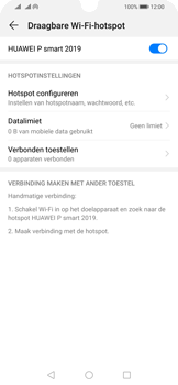 Huawei P Smart (2019) - Internet - mijn data verbinding delen - Stap 10
