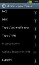 Samsung I8260 Galaxy Core - Internet - Configuration manuelle - Étape 13