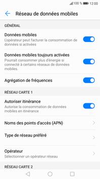 Huawei Mate 9 - Internet et roaming de données - Désactivation du roaming de données - Étape 5
