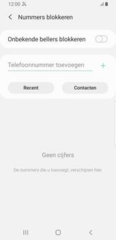 Samsung galaxy-s9-sm-g960f-android-pie - Beveiliging en ouderlijk toezicht - Nummer blokkeren - Stap 8