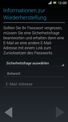 Sony Xperia J - Apps - Einrichten des App Stores - Schritt 13
