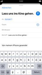 Apple iPhone 8 - iOS 13 - E-Mail - E-Mail versenden - Schritt 7