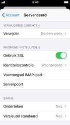 Apple iPhone SE - iOS 13 - E-mail - Handmatig instellen - Stap 25