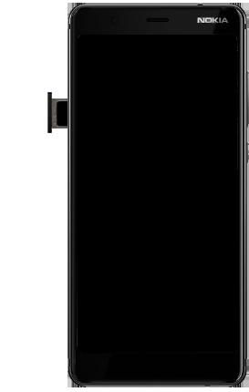 Nokia 5.1 - Toestel - simkaart plaatsen - Stap 10