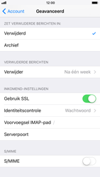 Apple iPhone 6s - iOS 11 - E-mail - Account instellen (IMAP zonder SMTP-verificatie) - Stap 24