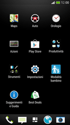 HTC One Mini - MMS - Configurazione manuale - Fase 3