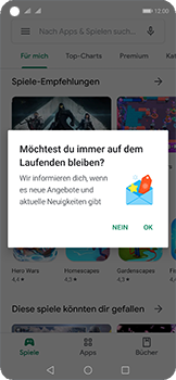 Huawei Nova 5T - Apps - Installieren von Apps - Schritt 5