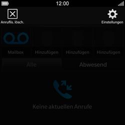 BlackBerry Q10 - Anrufe - Rufumleitungen setzen und löschen - 5 / 13