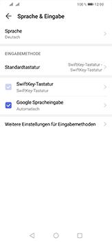 Huawei P30 Lite - Startanleitung - So fügen Sie eine Tastatursprache hinzu - Schritt 5
