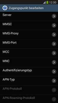 Samsung Galaxy Note 3 LTE - MMS - Manuelle Konfiguration - 1 / 1