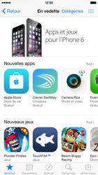Apple iPhone 6 - Applications - Créer un compte - Étape 4