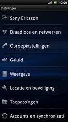 Sony Xperia Neo - Voicemail - Handmatig instellen - Stap 4
