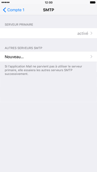 Apple iPhone 6s Plus - E-mail - configuration manuelle - Étape 20