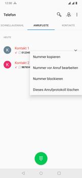 OnePlus 6T - Android Pie - Anrufe - Anrufe blockieren - Schritt 7