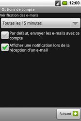 Samsung I7500 Galaxy - E-mail - Configuration manuelle - Étape 12