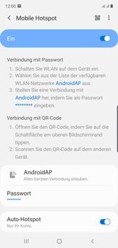 Samsung Galaxy Note 10 - WiFi - So aktivieren Sie einen WLAN-Hotspot - Schritt 12