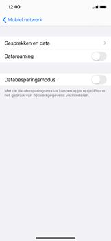 Apple iPhone X - iOS 13 - Internet - Dataroaming uitschakelen - Stap 6