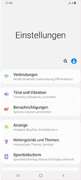 Samsung Galaxy A70 - Internet und Datenroaming - Prüfen, ob Datenkonnektivität aktiviert ist - Schritt 4