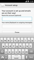 Huawei Ascend Y550 - E-mail - Manual configuration - Step 20