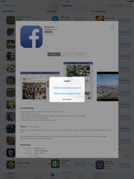 Apple iPad Pro 12.9 inch met iOS9 (Model A1652) - Applicaties - Account aanmaken - Stap 7