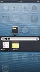 Apple iPhone 5 - Startanleitung - Personalisieren der Startseite - Schritt 7