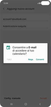 Samsung Galaxy S10 Plus - E-mail - 032c. Email wizard - Outlook - Fase 11