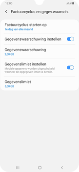Samsung Galaxy A30 - internet - mobiele data managen - stap 15