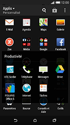 HTC Desire 816 - Internet et connexion - Naviguer sur internet - Étape 4