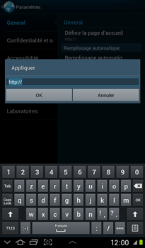 Samsung P3100 Galaxy Tab 2 7-0 - Internet - Configuration manuelle - Étape 22