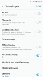 Samsung Galaxy A3 (2017) - Netzwerk - Netzwerkeinstellungen ändern - 1 / 1