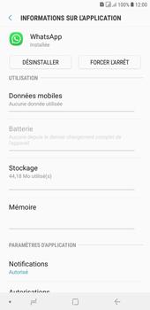 Samsung Galaxy J4+ - Applications - Supprimer une application - Étape 6