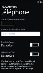 Nokia Lumia 710 - Messagerie vocale - Configuration manuelle - Étape 6
