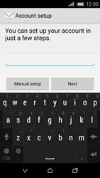 HTC Desire 320 - E-mail - Manual configuration - Step 7