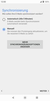 Sony Xperia XZ2 - Android Pie - E-Mail - Konto einrichten - Schritt 19