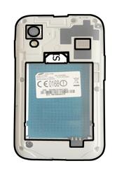 Samsung S5830i Galaxy Ace i - SIM-Karte - Einlegen - Schritt 4
